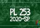 Texto na íntegra do PL253/2020-SP