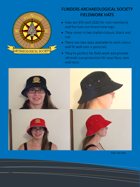 Flinders ArchSoc Hats NOW AVAILABLE!