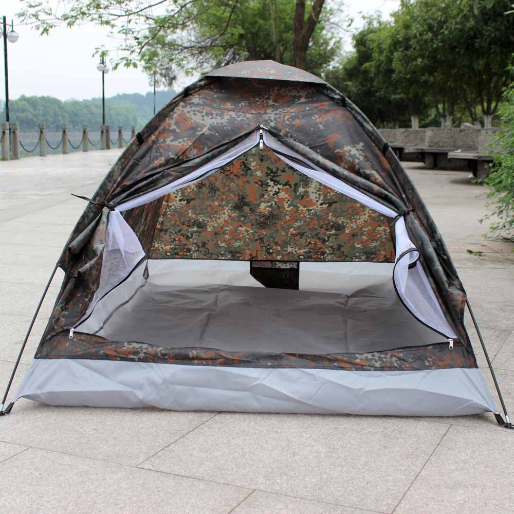 1.2KG TOMSHOO Ultralight 2 Person Water Resistance C&ing Tent ... & 1.2KG TOMSHOO Ultralight 2 Person Water Resistance Camping Tent w ...