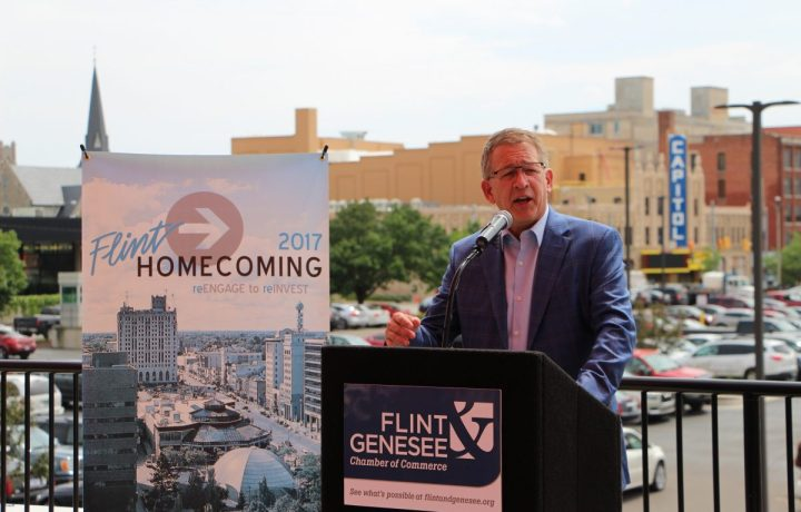 Phil Hagerman, CEO, Diplomat Pharmacy, Inc./Hagerman Foundation, Flint Homecoming 2017