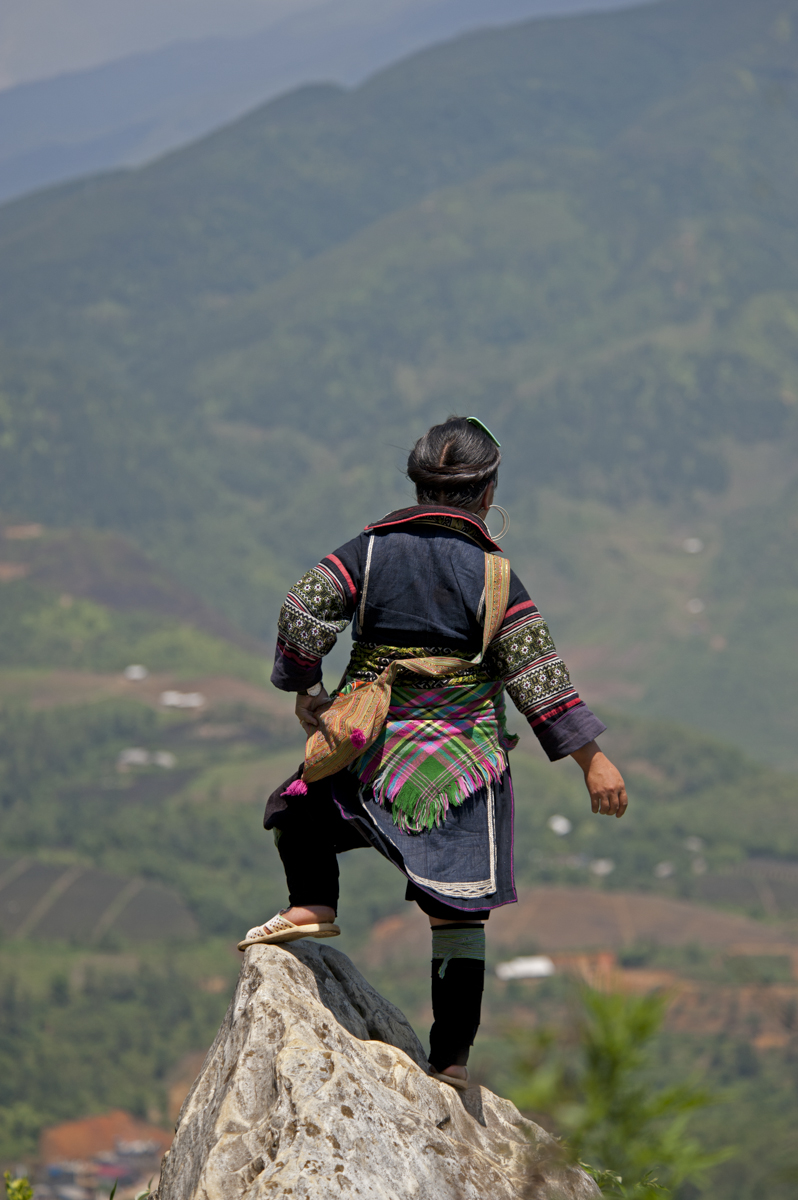 Sapa mountain view