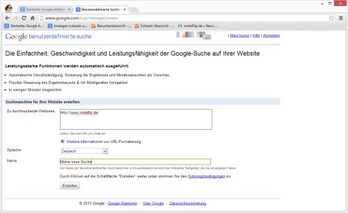 google cse 1