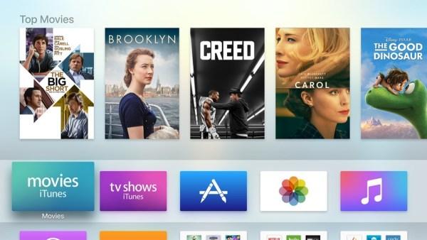 Home Screen Apple Tv