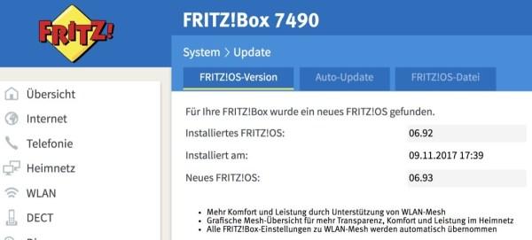 Fritzbox 7490 6 93 Fritzos Update