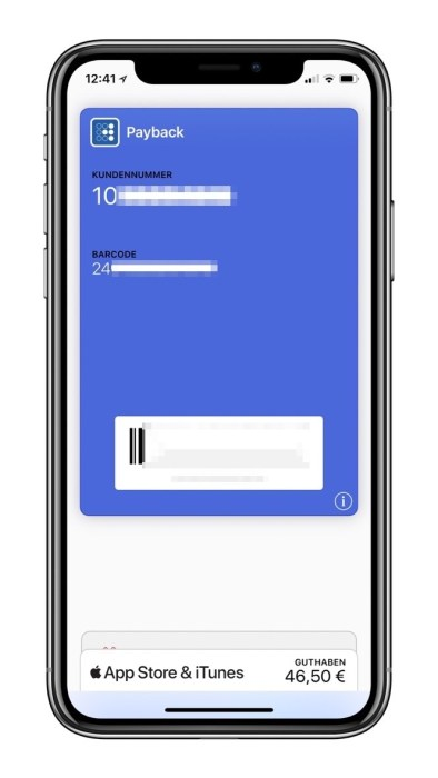 Payback Apple Wallet Neu