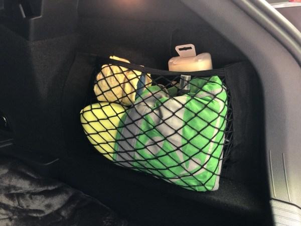 Kofferraum Netztasche 2
