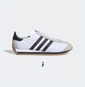 Country OG Blancas negras Adidas