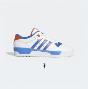 Adidas Rivalry Low Whiteblueorange