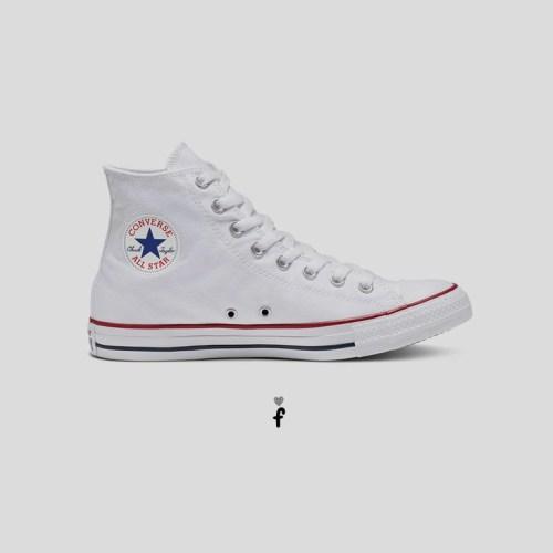 Converse All Star Clásicas altas | Blancas