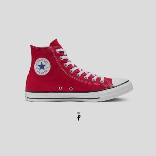 Converse All Star Clásicas altas | Rojas