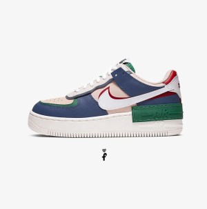 Air force 1 Shadow mujer multicolor