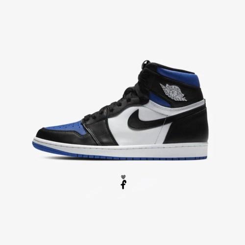 Nike Air Jordan 1 'Royal White'