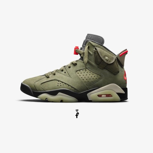 Nike Air Jordan 6 'Travis Scott'