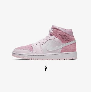 Nike Air jordan 1 Digital pink