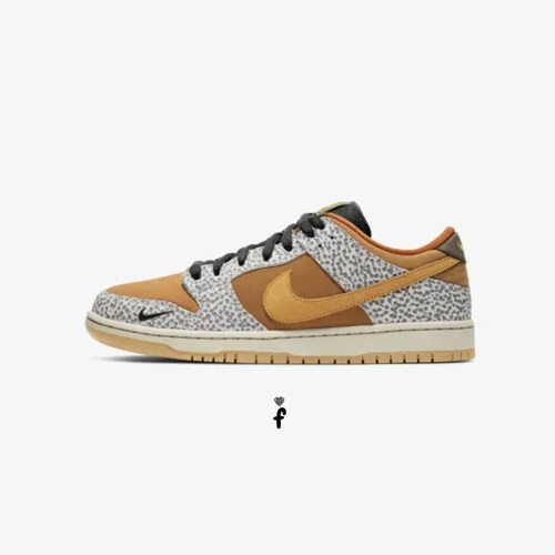 Nike SB Dunk Low Pro ISO Burnt Sienna