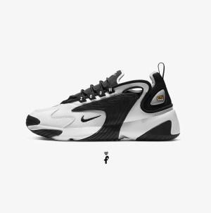 Nike Zoom 2K blanco negro