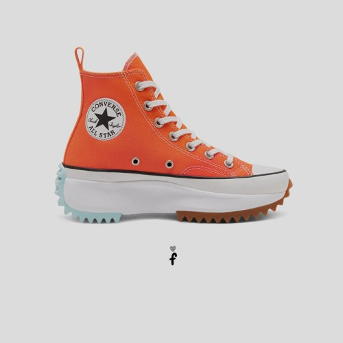 Sunblocked Run Star Hike High Top 'Naranjas'