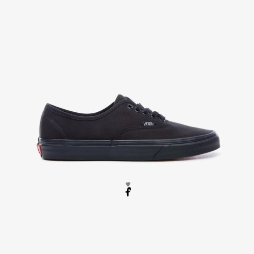 Vans bajas Authentic AllBlack