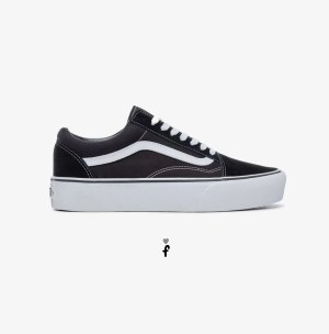 Vans plataforma Old Skool Low Negras
