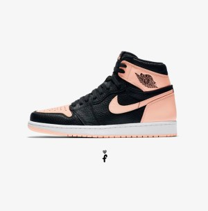Nike Air Jordan 1 High OG 'Crimson Tint' 2