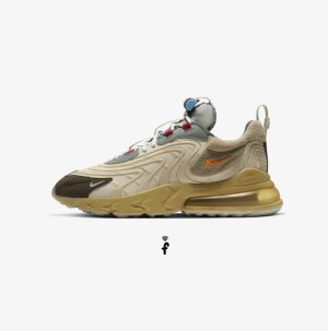 Travis Scott Air Max 270 React ENG Cactus Trails