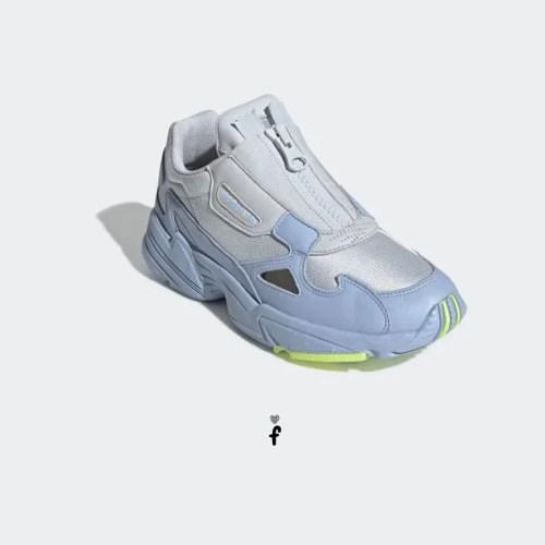 Adidas Falcon Zip Azules