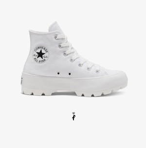 Converse Lugged Blancas