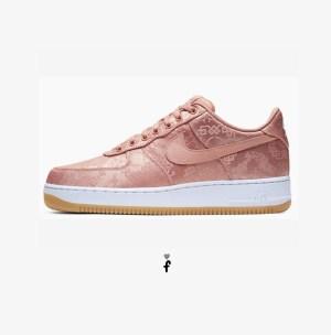 Nike Air Force 1 Clot low Rose Gold