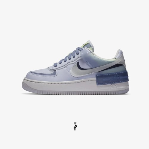 Nike Air Force 1 Shadow Azules