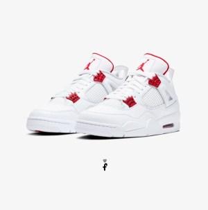 Nike Air Jordan 4 Red Metallic