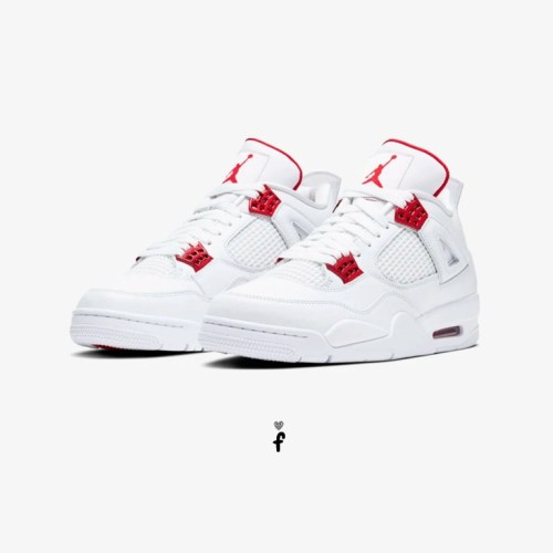 Nike Air Jordan 4 Red Metallic