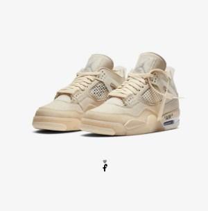 Jordan 4 Retro Off White
