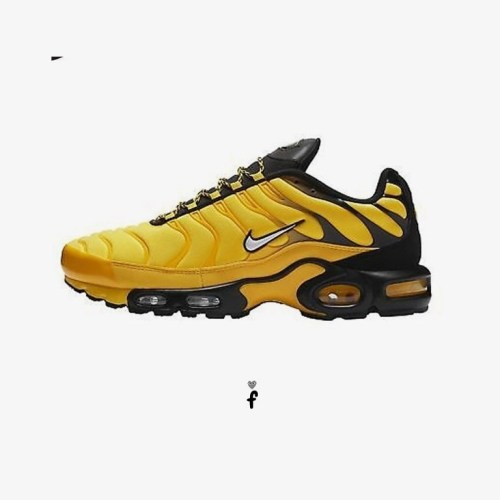 Nike TN Air Max Plus Frequency Pack Yellow Black
