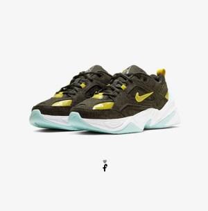 Nike M2K Tekno LX Black Citron
