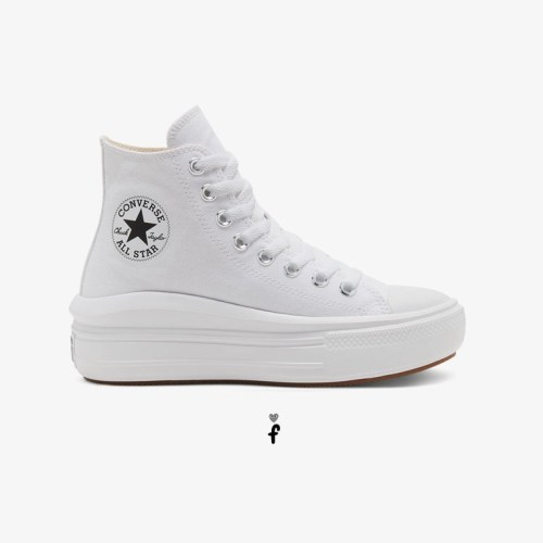 Converse All Star Move Plataforma Blancas 568498C