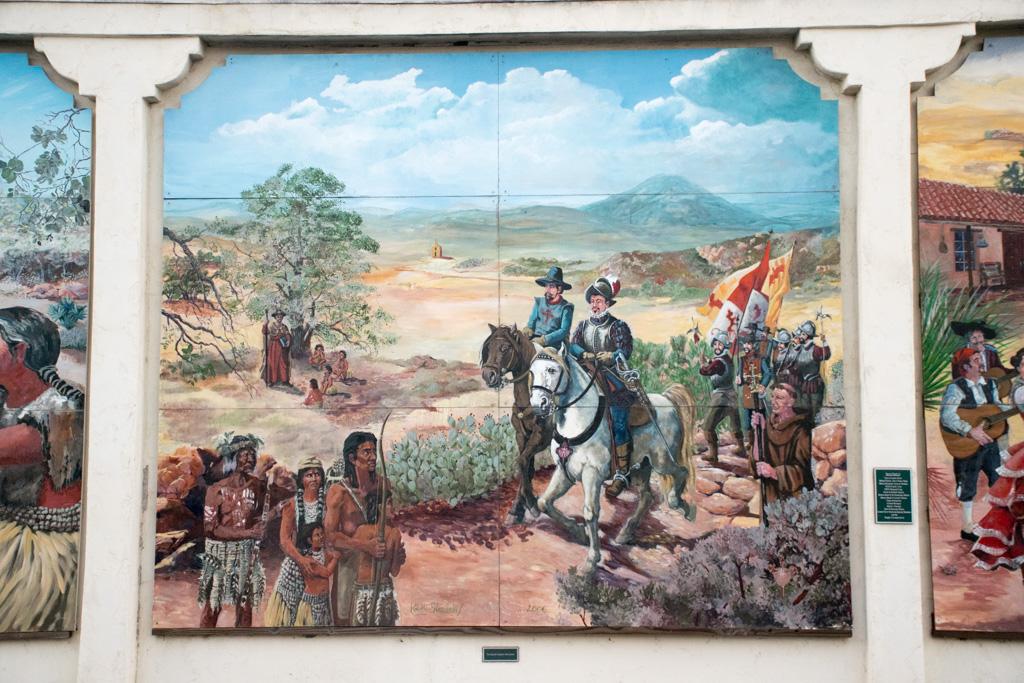 The Lemon Grove History Mural Section 2