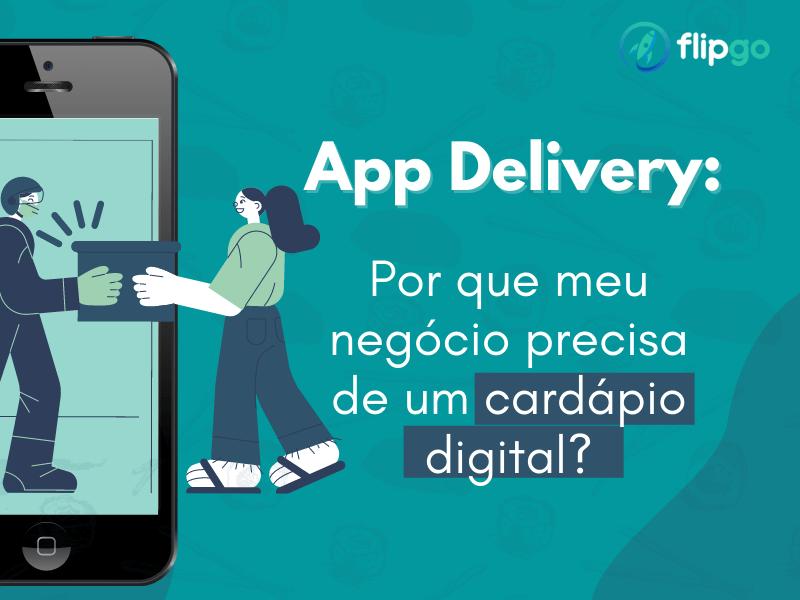 Crie um app de delivery