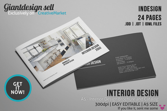 10 Modern Furniture Catalog Templates for Interior ...