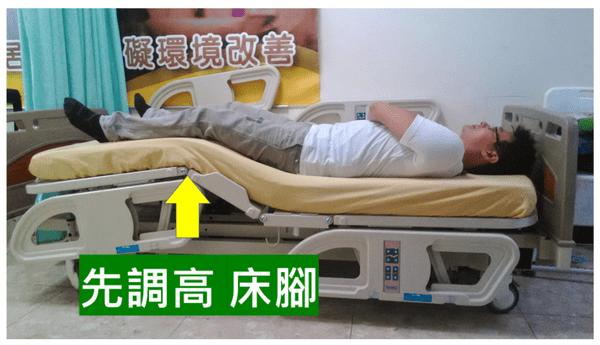 012.病床搖高 病人下滑,有解 4