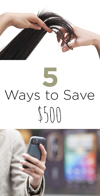5 Ways to Save $500