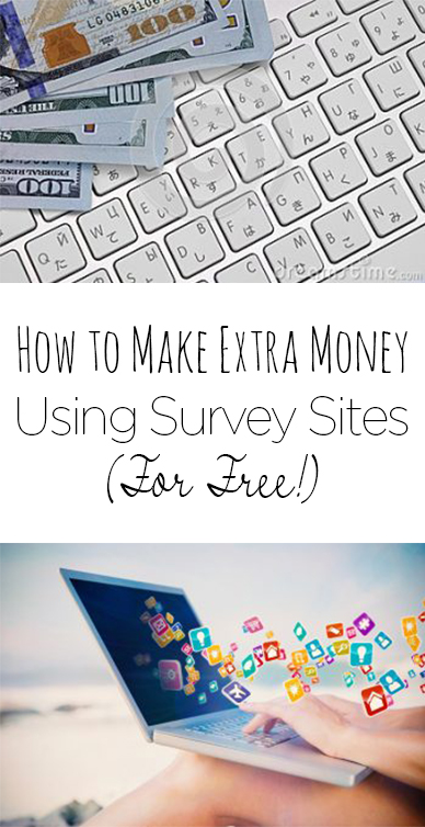 How to Make Extra Money Using Survey Sites (For Free!)