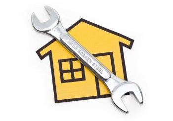 house with wrench