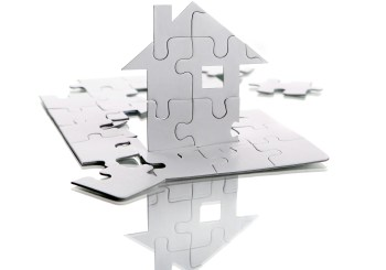 house puzzle pieces