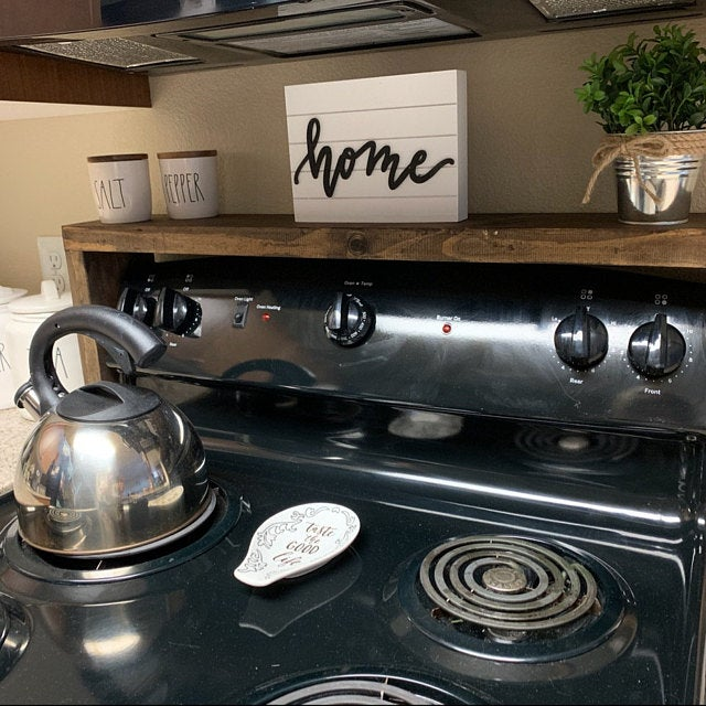 oven spice rack