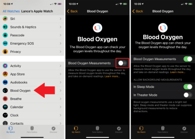 How to Use Blood Oxygen Monitor  on Apple Watch 6