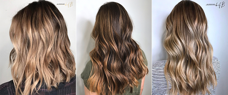 Balayage Amp Babylights San Diego Hair Color Trends Flirt