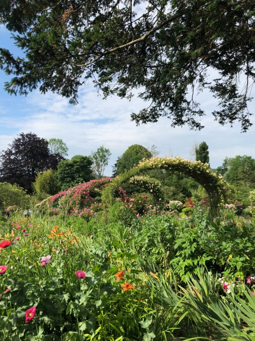Alicia Schwede of Flirty Fleurs Blog visits Claude Monet's Gardens in Giverny, France