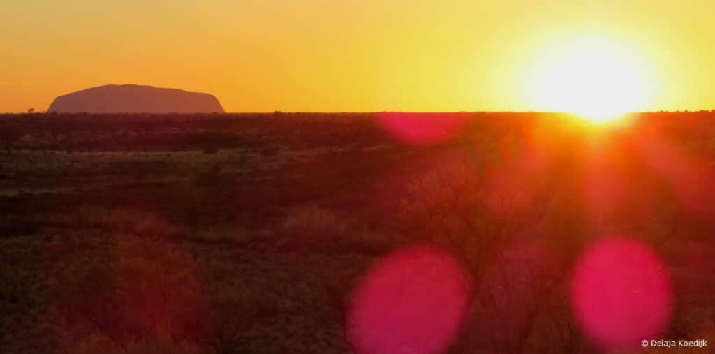 Alice Springs sunset Australia