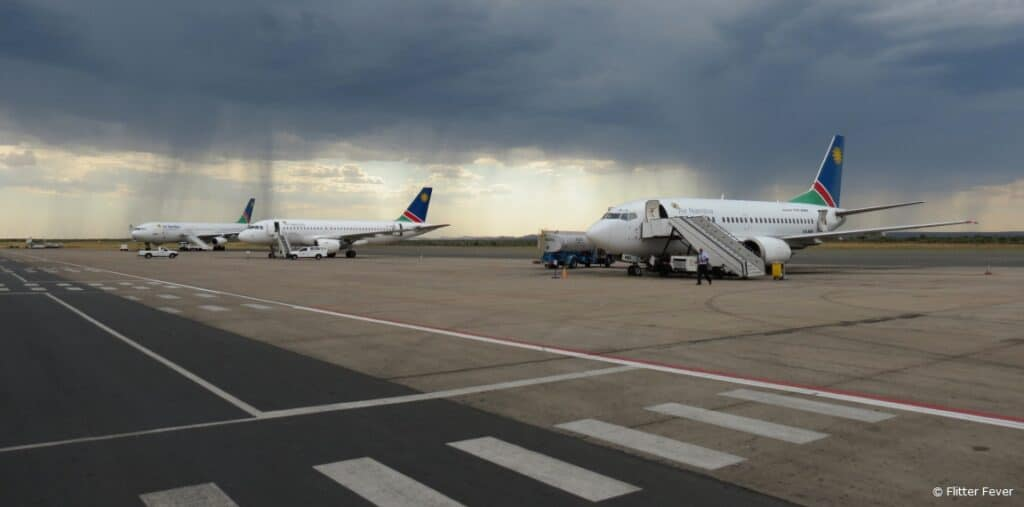 Hosea Kutako International Airport Windhoek Namibia WHD FYWH