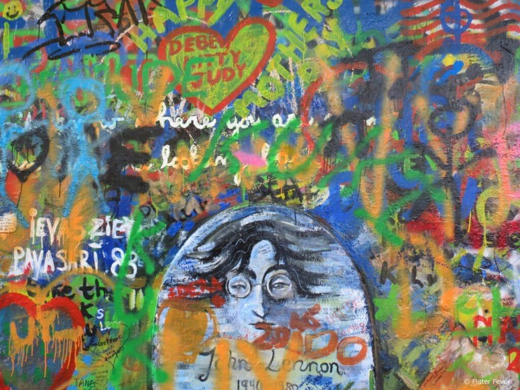 John Lennon Wall Prague Praag